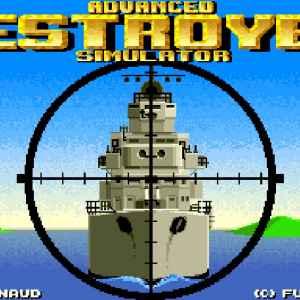 Advanced Destroyer Simulator retro game