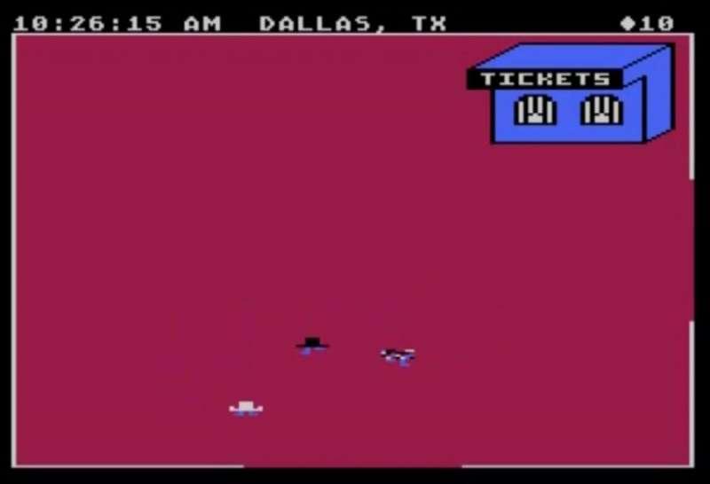 Agent USA retro game