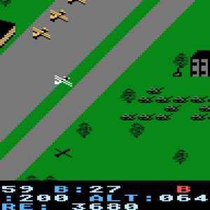 Blue Max retro game