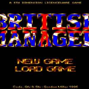 British Manager retro game