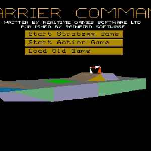 Carrier Command retro game