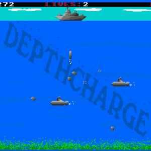Depthcharge retro game