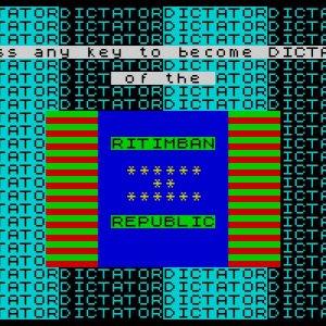 Dictator retro game