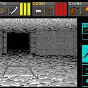 Dungeon Master retro game