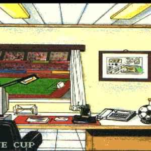 Euro League Manager retro game