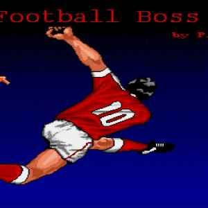 Football Boss retro game