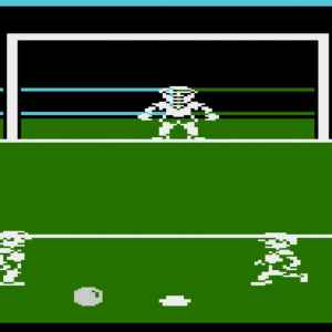 Footballer of the Year retro game