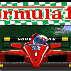 Formula 1 3D retro game
