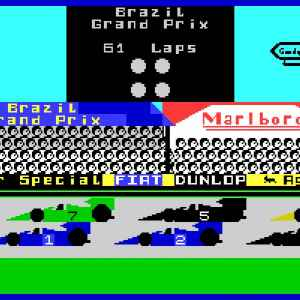 Formula One retro game