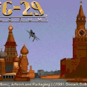 MiG-29 Fulcrum retro game
