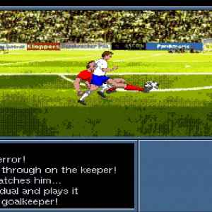On the Ball - World Cup Edition retro game