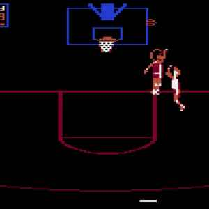 One on One retro game