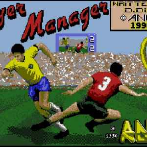 Player Manager retro game
