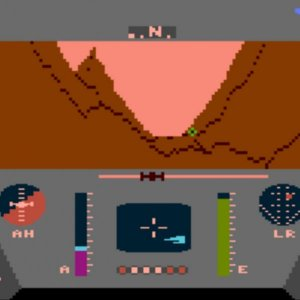 Rescue on Fractalus! retro game