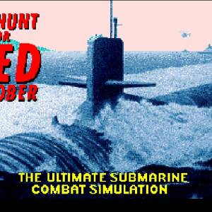 The Hunt for Red October retro game